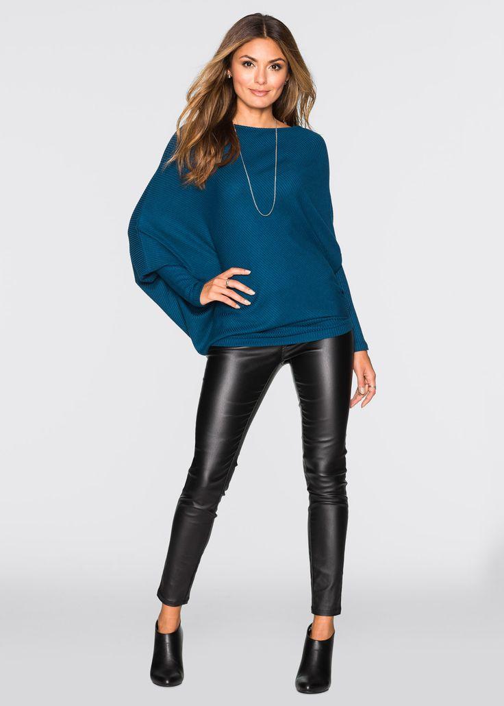 Pullover oversize con fondo asimmetrico Nero - BODYFLIRT è ordinabile nello shop on-line di bonprix.it da ? 28,99. Pullover trendy della BODYFLIRT, con ...