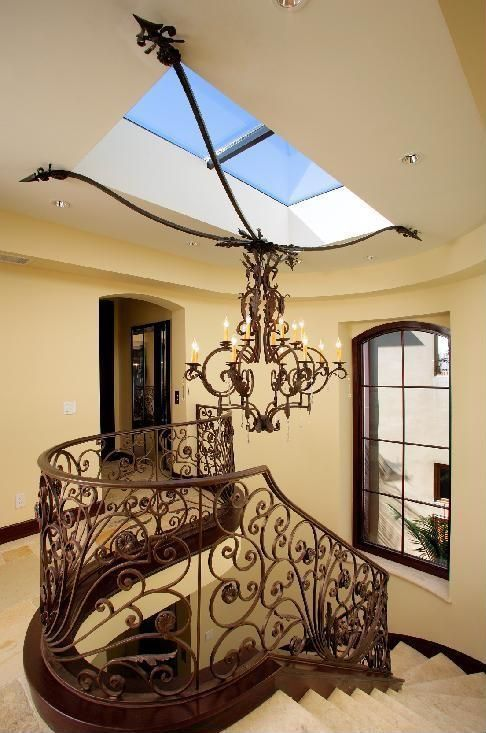 Mediterranean Staircase - Found on Zillow Digs