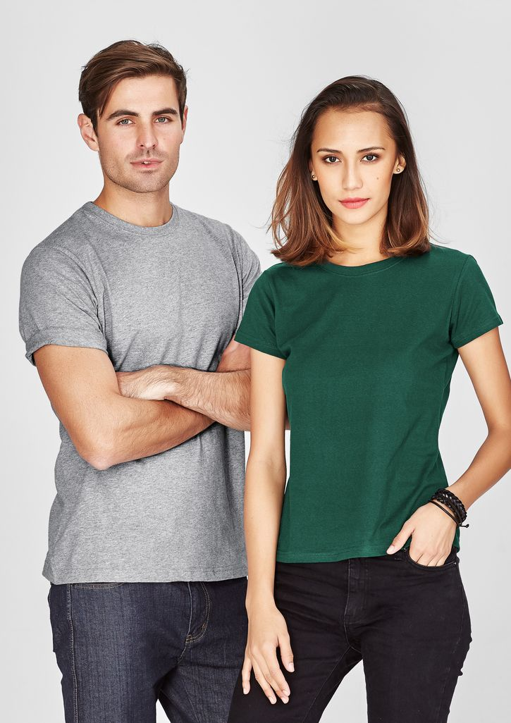 Products - T10022 Mens & Ladies 100% Cotton Tee - 23 Colours