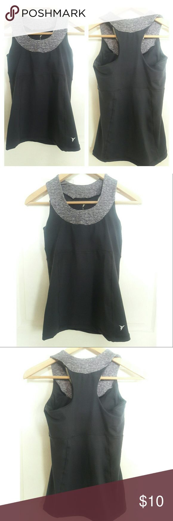 Old Navy Gray Athletic Workout Razorback top Old Navy Gray Athletic Workout Razorback top. Worn once. Size S. Smoke free home! Old Navy Tops