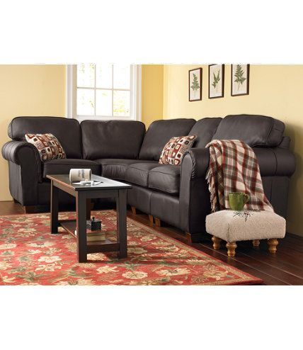 Ultralight Comfort Sectional Sofa Four Piece Leather Indoor Furniture At L  Bean - Ll Bean Sofa Bed Goodca Sofa