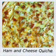Han en kaas quiche