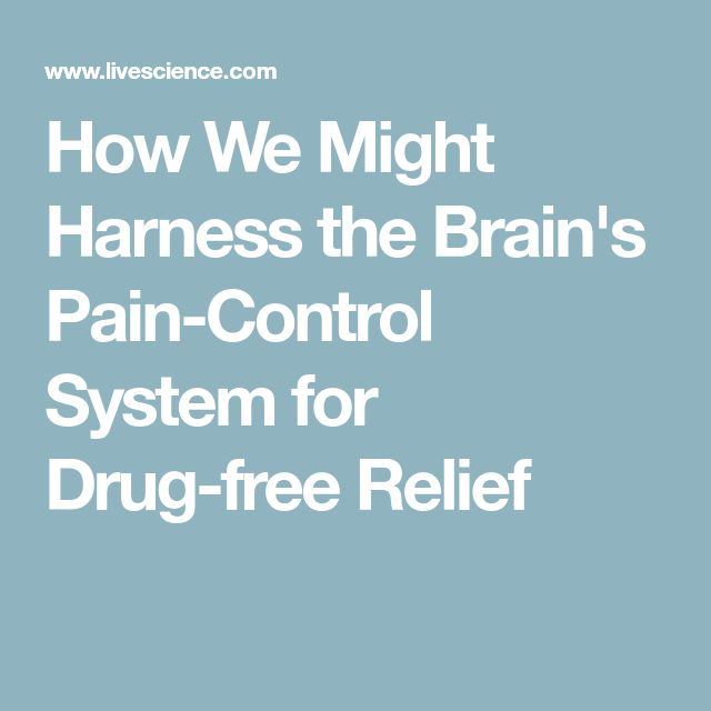 How We Might Harness the Brain's Pain-Control System for Drug-free Relief
