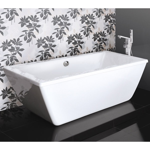 The Trick Freestanding Bath Is A Real Centerpiece For Any New Bathroom.  Made From Twin