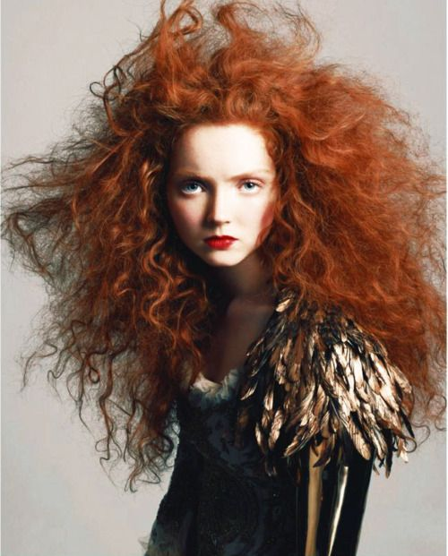Lily Cole by Andreas Sjödin