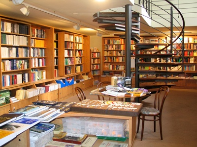 Bookstore - Karmelitánské knihkupectví U sv. Antonína, Liberec