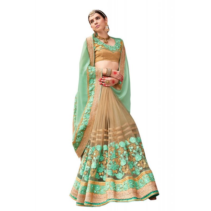 Aloe Vera Green Saree With Pretty #Plain #Pallu The ethnic #Lace & #Resham work at the clothing adds a sign of attractiveness statement with your look.