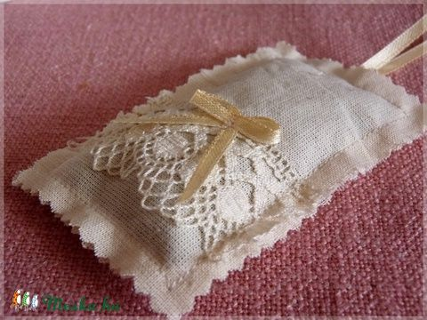 Meska - Vintage levendula illatzsákok pannika kézművestől
