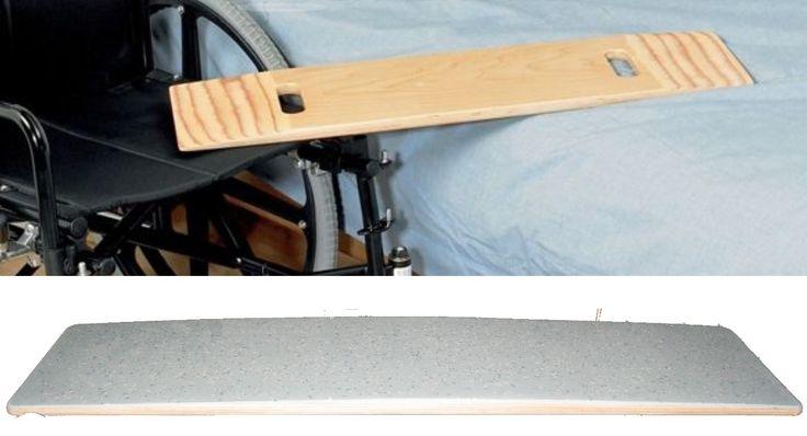 Asse di spostamento letto carrozzina letto, sopra un modello da internet, sotto quella realizzata con rivestimento superiore in linoleum