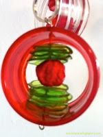 Riciclare...con fantasia: Ciondoli con....i colli di bottiglia. bellissimo tutorial da http://xriciclare.blogspot.it/
