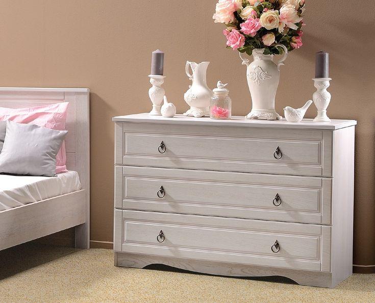 Dedeman Dormitor Blanca - comoda 3 sertare - Comode - Mobilier dormitor - Mobilier - Dedicat planurilor tale