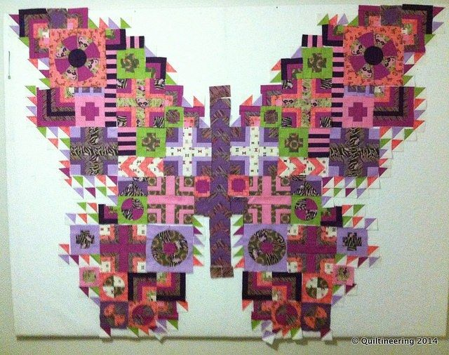 The Butterfly Quilt - Made by Rachel @ Quiltineering