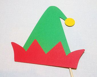 paper elf hat template - Google Search