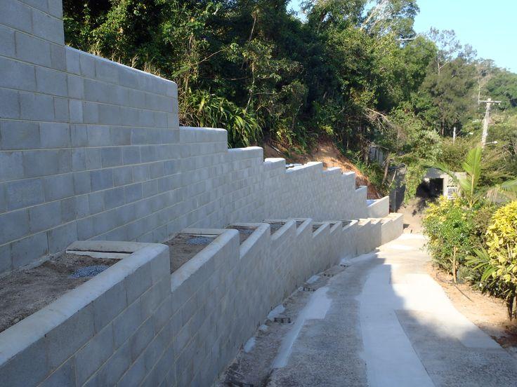 Masonry Retaining Wall - Cairns