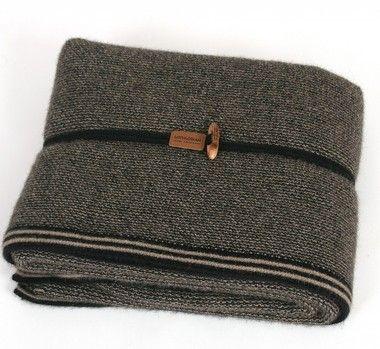 Medium Weight Merino Wool & Possum Fur Blanket