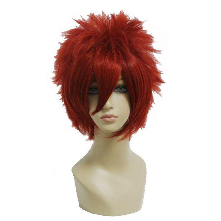Synthetic Cosplay Wig High Temperature Fiber