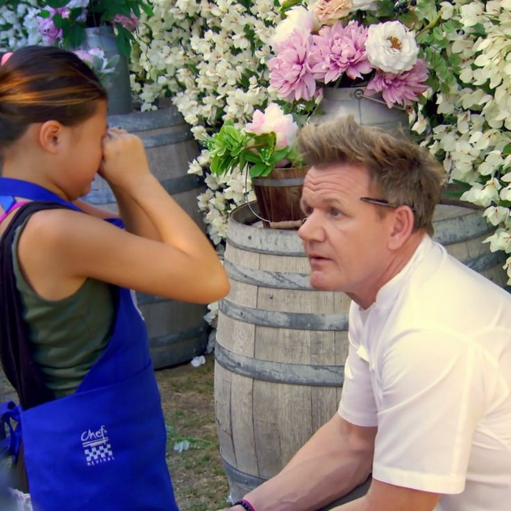 Don't cry - Gordon is back! Catch MasterChef Junior TOMORROW at 8/7 on FOX.