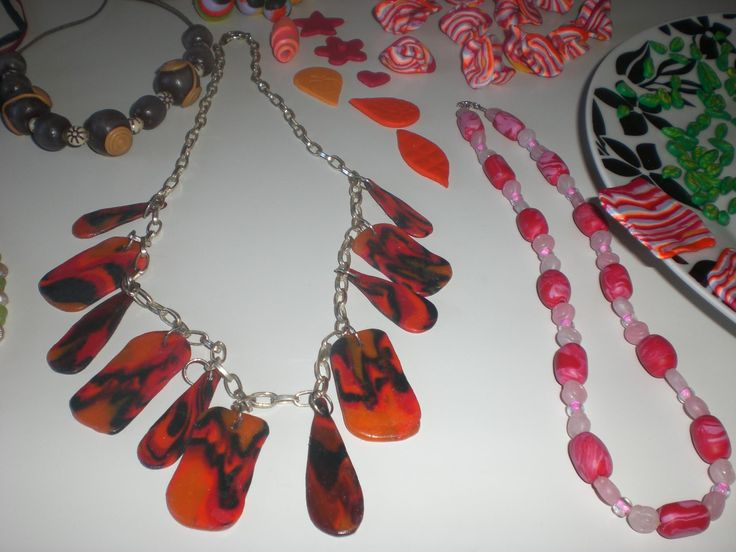 I made a jewelry with FIMO