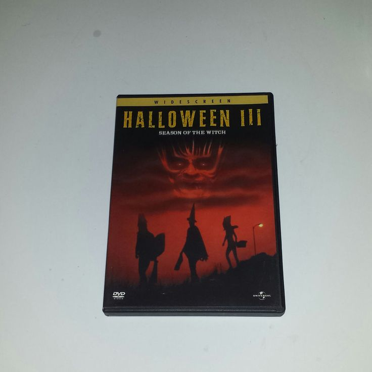 *~ Halloween 3: Season of the Witch (DVD, 2003) ~* MASKS TOM ATKINS in DVDs & Movies, DVDs & Blu-ray Discs | eBay