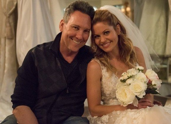 Jeff Franklin Dj Candace Cameron Bure In Wedding Dress Fuller House Dj Fuller House Candace Cameron Bure