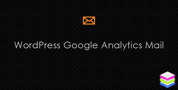 WordPress Google Analytics Mail