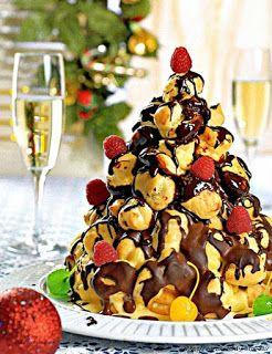 "Новогодний десерт ""Крокембуш"""
