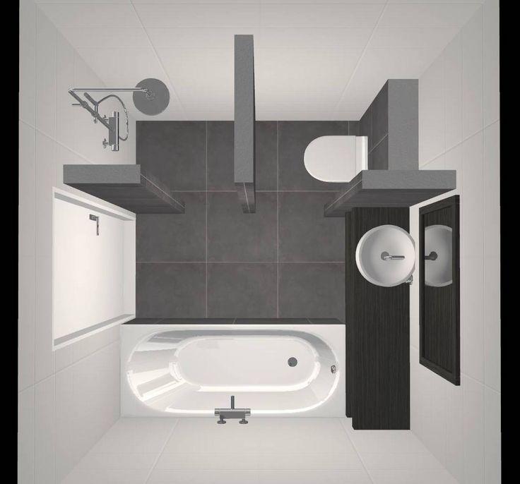25 beste idee n over toilet ontwerp op pinterest logeerbadkamer decoreren hotellobby ontwerp - Deco kleine badkamer met bad ...