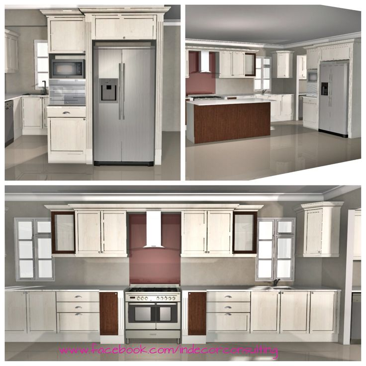 3D kitchen design, Franschoek Estate