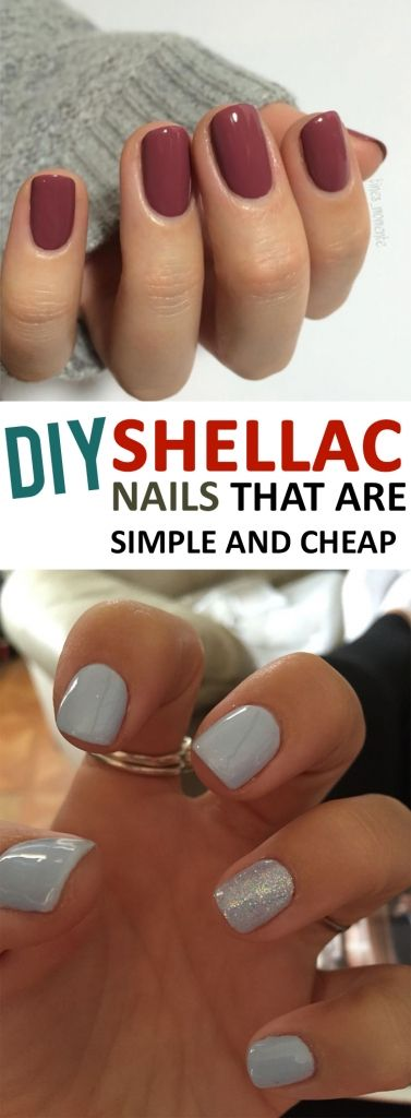 DIY Shellac Nails that Are Simple and Cheap (1)