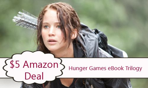 Hunger Games eBook Trilogy only $5!