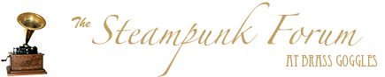 The Steampunk Forum at Brass Goggles:  good chat room for SP ideas