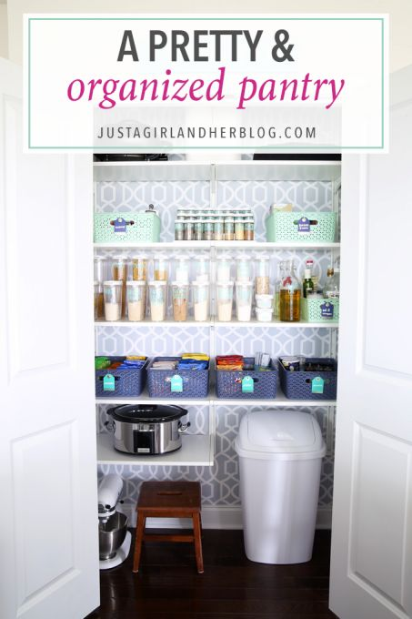 5 Tips For A Gorgeous And Organized Pantry: 15731 Best Bloggers' Best Home Tips And Tricks Images On