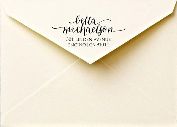 Calligraphy return address labels  printable by FreshmintPaperie, $10.50