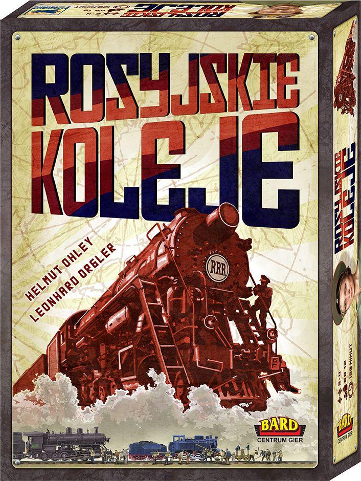Wybuduj największą sieć kolejową!. Rosyjskie koleje to jeden z hitów roku 2013 na świecie, gra która bardzo szybko wspina się w rankingu BoardGameGeek. W Rosyjskich Kolejach gracze rywalizują ze sobą o to, kto zbuduje największą i najnowocześniejszą sieć kolejową w Rosji. Aby osiągnąc sukces muszą w odpowiedni sposób gospodarować swoimi robotnikami. Każdy gracz staje...