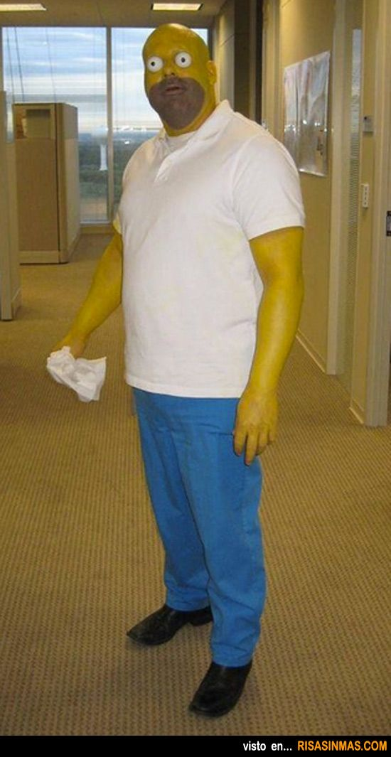 27 best the simpsons costume cosplay images on pinterest - Disfraces del mundo ...