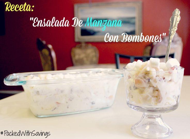 """Ensalada de Manzanas con Bombones. """"Evesther"""""""