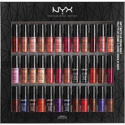 Nyx Cosmetics Soft Matte Lip Cream Vault Set