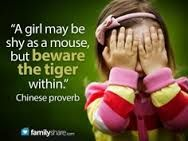 quote about overcoming shyness - Google zoeken
