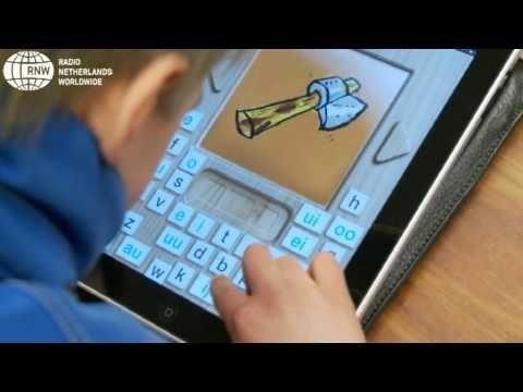 Kinderen leren intuïtief op de iPad