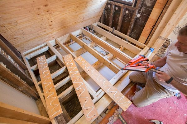 Strengthening Floor Joists with Plywood  Reinforcing