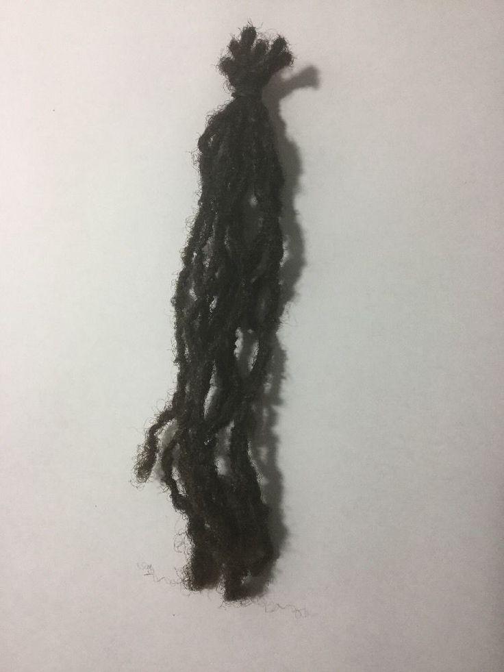 100% Human Hair Dreadlock Extensions Locs ( 10 Dreads ) 6-8 Inches  | eBay