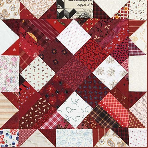 Bonnie's block: Turkey Track, Quilts Quilts, Hunters, Quilts Blocks, Bonnie Hunter, Hunter Quilts, Quilt Blocks