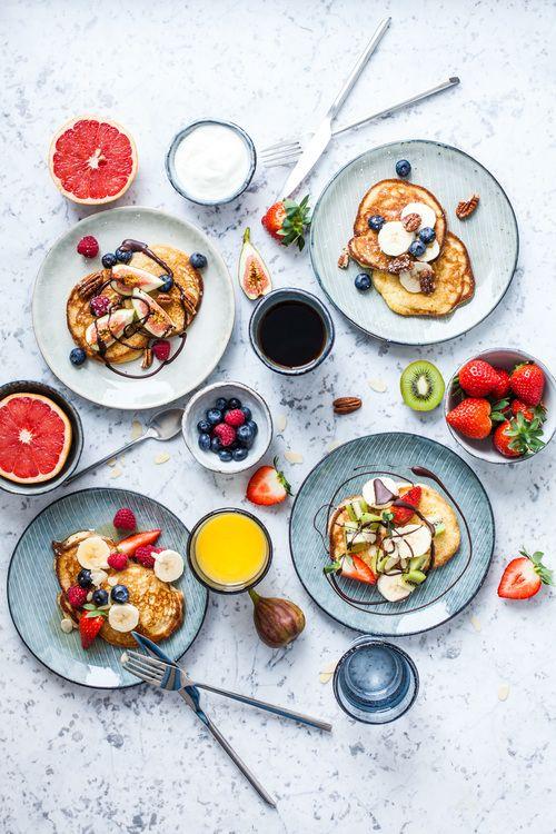 Fluffy Weekend Gluten-free Pancakes - www.madelinelu.com