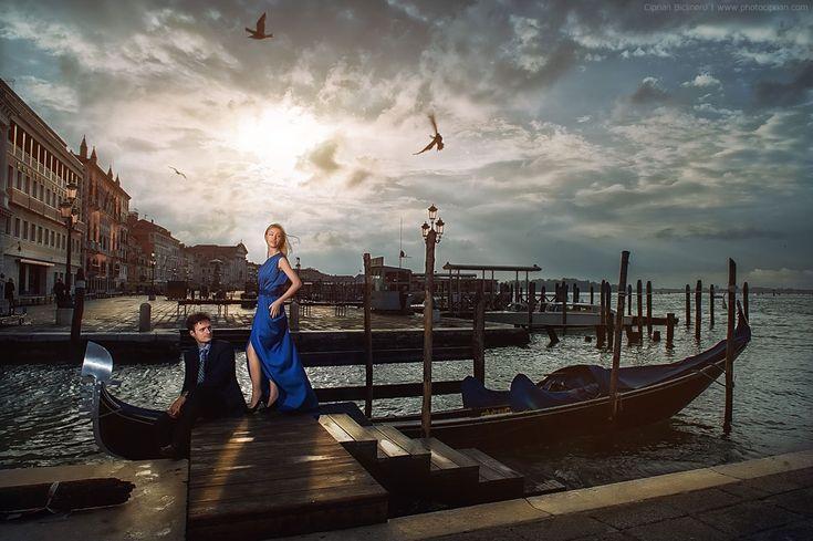 Verlobungsfotos in Venedig, Hochzeitsdestination in Italien
