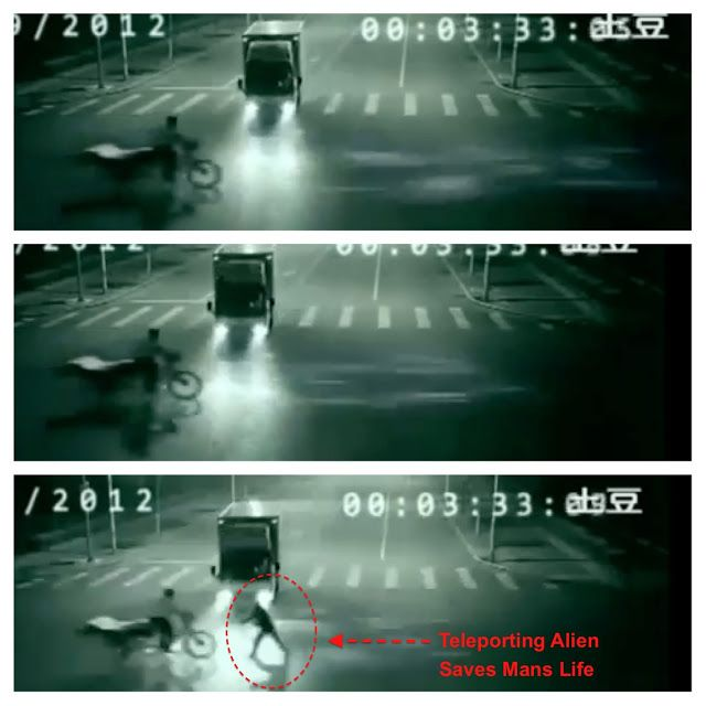 UFO SIGHTINGS DAILY: Updated: Alien Saves Mans Life In China Car Accident, Sept 2012 Security Cam Video #car #accident #in #phoenix http://botswana.nef2.com/ufo-sightings-daily-updated-alien-saves-mans-life-in-china-car-accident-sept-2012-security-cam-video-car-accident-in-phoenix/  # Below photos show his body as light shooting across the road to the man. Date of sighting: September 2012 Location of sighting: China Updated on May 17, 2014: The icon (Chinese words) in the upper right hand…