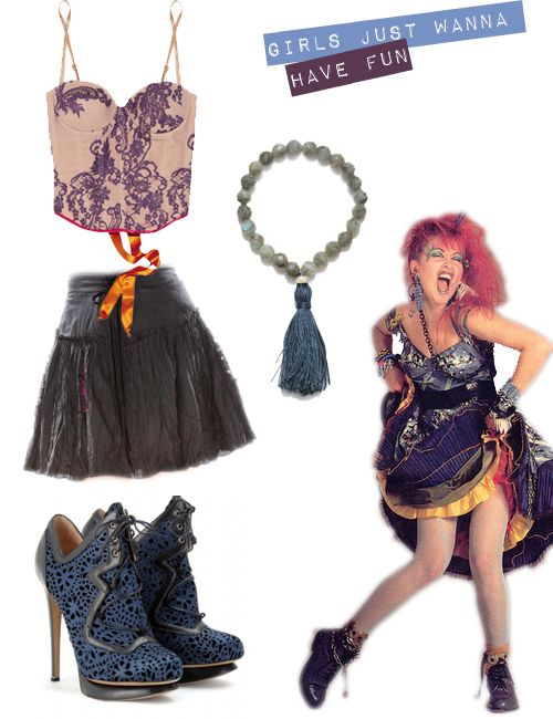 Cyndi Lauper gets a seriously cool update (not that we don't love her 1980s look, which was the coolest of that decade).