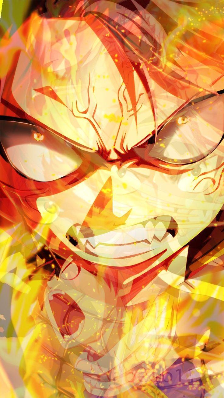 The Fire in his eyes says it all  https://www.pinterest.com/AnimeAllstar/