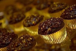 Ferrero Rocher Cupcakes: Rich Chocolate Cupcakes with Hazelnut