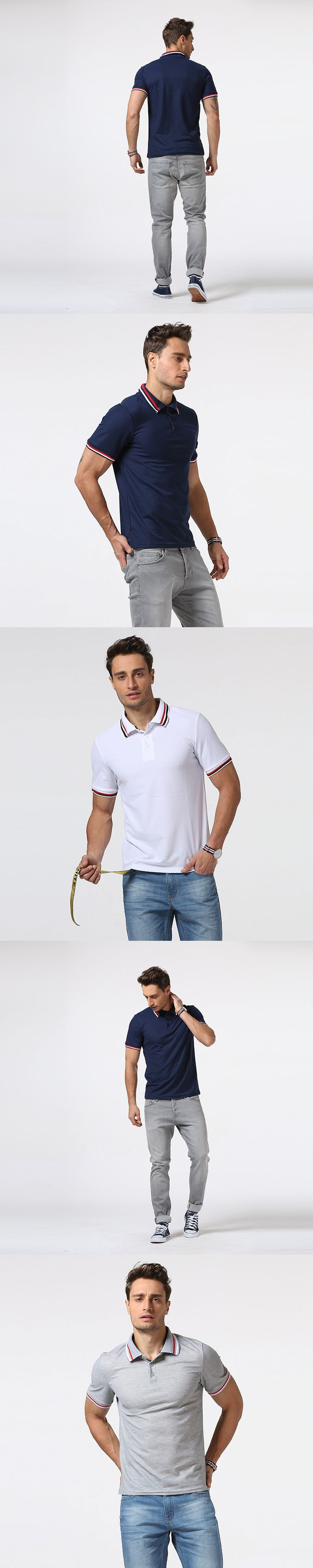 2017 Brand New Men Polo Shirt Short Sleeve Men England Polo Shirt Slim fit Clothing Top Quality camisa polo masculina