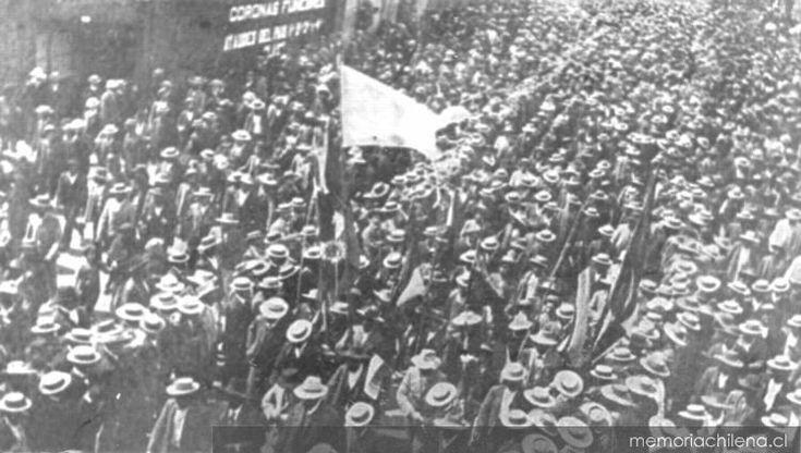 1907 huelga Santa Maria de Iquique